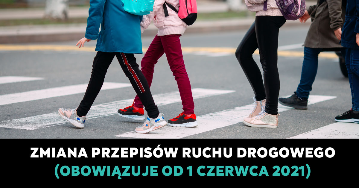 Zmiana przepisów ruchu drogowego 1 czerwiec 2021
